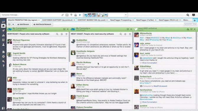 How To Mine Twitter for Prospects & Customer Issues using HootSuite [video demonstration]