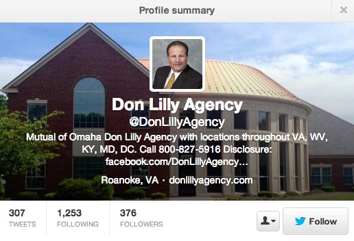 Don Lilly Agency example