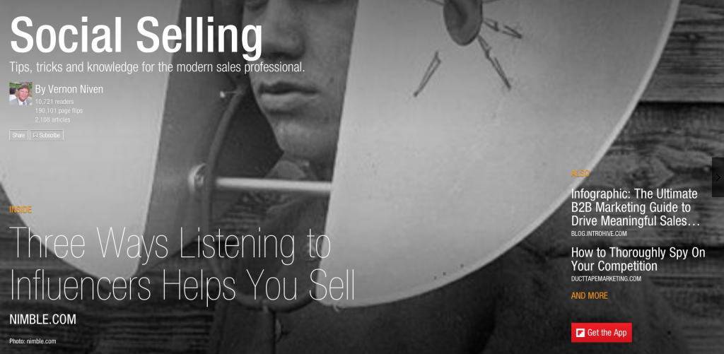 Social Selling Magazine on Flipboard